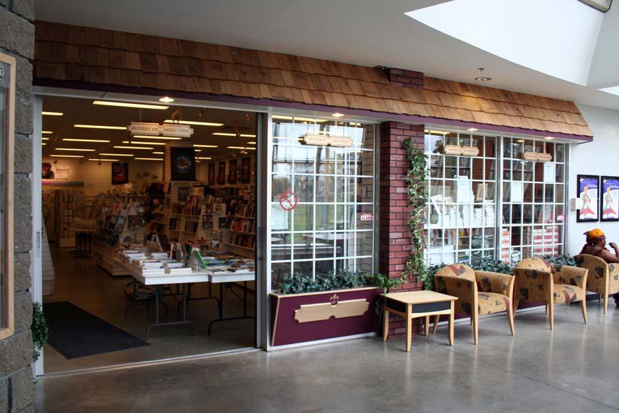 Librairie Le carrefour, dans la Cité francophone d'Edmonton.
